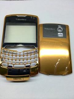 Carcaza Color Oro Blackberry I8350 Nextel