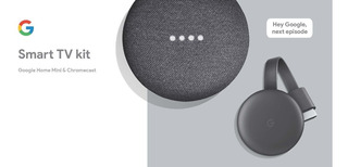 Google Home Mini Asistente Virtual Chromecast 3 Smart Tv Ade