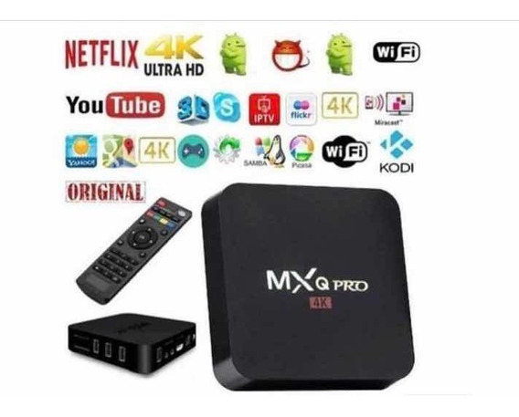 Aparelho Tv Box Transforme Sua Tv Em Smart 4k Pro 4gb/ 32gb