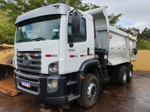 Volkswagem 31-320 6x4 Ano 2011 Caçamba Meia Cana  Traçado