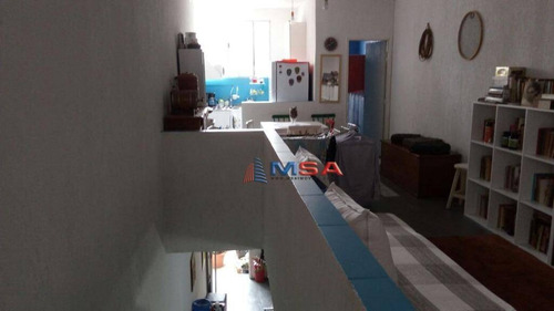 Imagem 1 de 15 de Casa De Vila À Venda Em Pinheiros, Com 1 Dormitório  E 1 Vaga - Ca1119