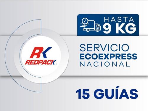 15 Guías Prepagadas  Ecoexpress Hasta 9 Kg