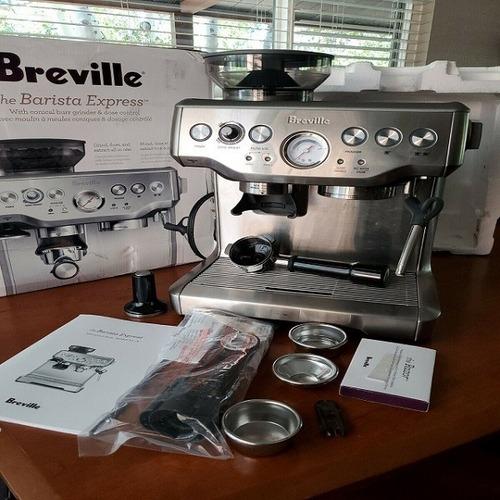 Imagen 1 de 1 de New Brevilles Bes870bss Barista Express Coffee Machine