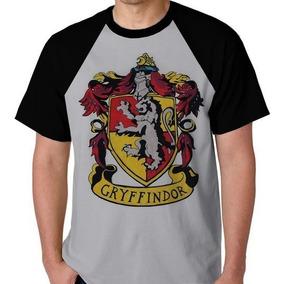 Camiseta Harry Potter Gryffindor Grifinória Camisa Blusa