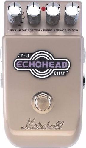 Pedal Para Guitarra Echohead Delay Efeitos Eh1 Marshall
