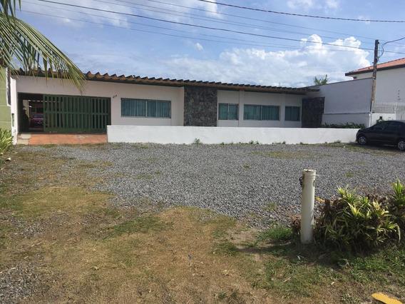 Casa Com 4 Quartos Em Frente Ao Mar, Itanhaém-sp- 5040/p
