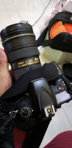 Lente 24/70 Nikon