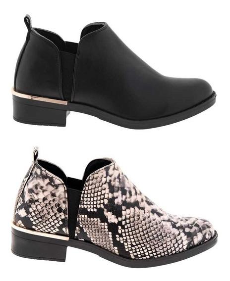 Botin Kit 2 Pares Pink By Price Shoes Dama