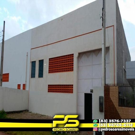 Galpão Para Alugar, 540 M² Por R$ 8.000/mês - Cabedelo - Cabedelo/pb - Ga0035