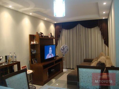Imagem 1 de 14 de Apartamento Com 3 Dormitórios À Venda, 68 M² Por R$ 360.000,00 - Jardim Flor Da Montanha - Guarulhos/sp - Ap0148
