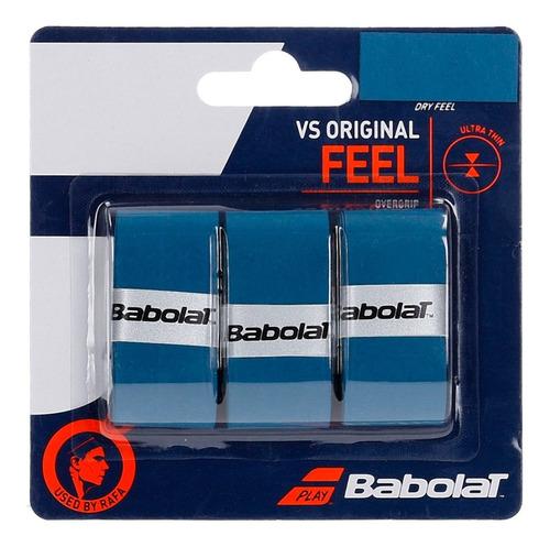 Imagem 1 de 1 de Overgrip Babolat Vs Original Feel  3 Unid. Ultra Fino- Nadal