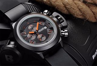 Reloj Megir Militar Deportivo Cronografo Fecha
