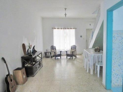 Sobrado A Venda Na Praia Das Pitangueiras, Guaruja - 3 Dormitórios - Vaga Para 2 Carros. - So0009 - 34710847