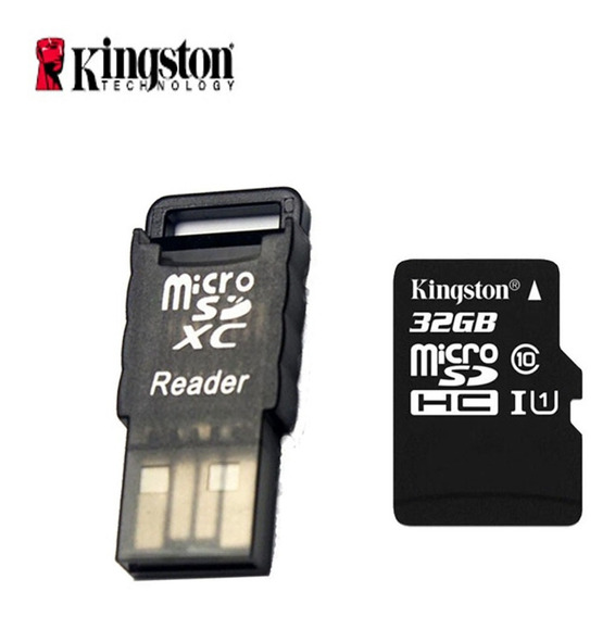 Kingston Classe 10 32gb Micro Sd / Tf Cartão W / Cartão Leit