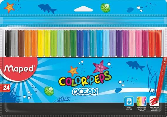 Marcadores Ocean Estuche X 24 Maped 845722 Educando