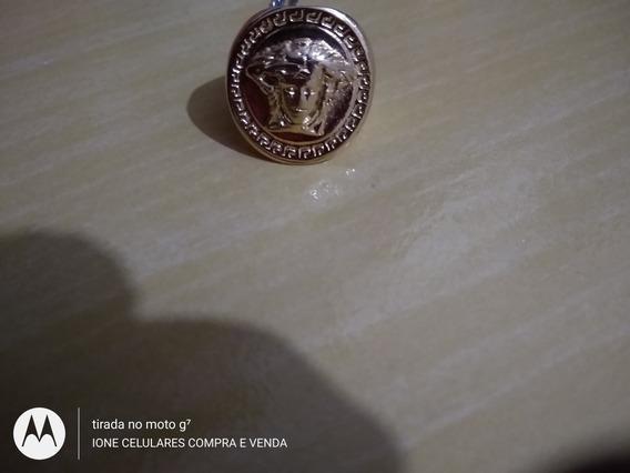 Anel Medusa Versace De Ouro 24k