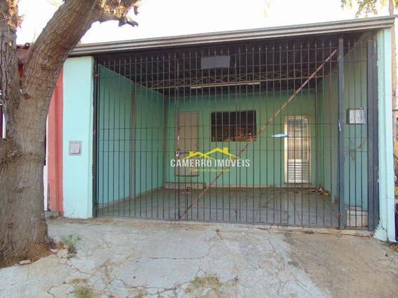 Casa Com 3 Dormitórios Para Alugar, 100 M² Por R$ 800,00/mês - Parque Planalto - Santa Bárbara D