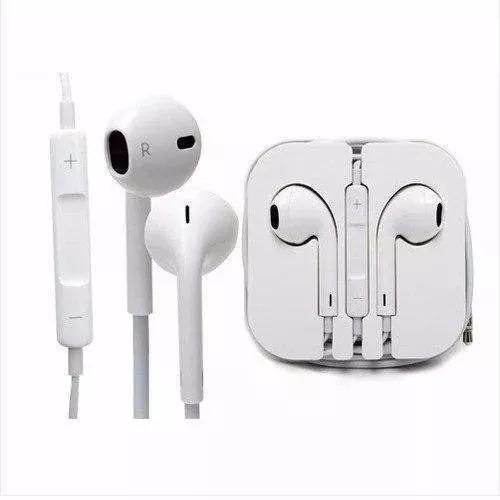 Kit Com 10 Fone De Ouvido Branco P2