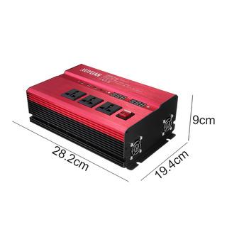 Rojo 8000w Led Solar Energía Inversor Corriente Continua 12