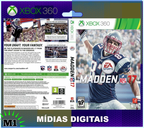 Madden Nfl 17 Completo Xbox 360 Download Na Live Xbox