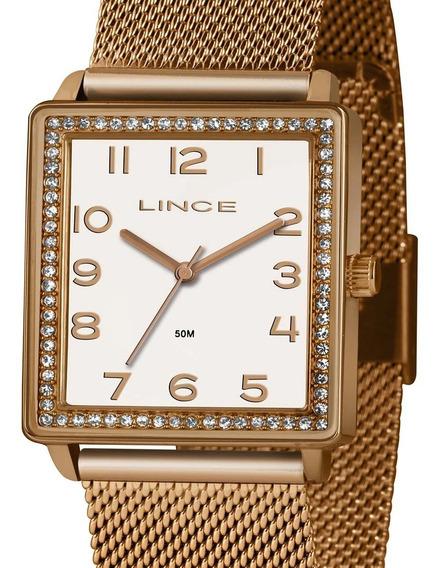 Relógio Lince Feminino Original Sk65 + Nota Fiscal