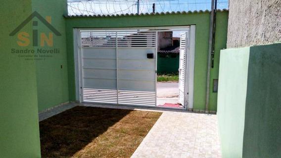 Casa Com 2 Dormitórios À Venda, 60 M² Por R$ 215.000 - Jardim Ipê - Itaquaquecetuba/sp - Ca0075