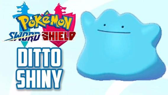 Ditto Shiny Japonês 6 Ivs + Mew Sword Shield C/ Destiny Knot
