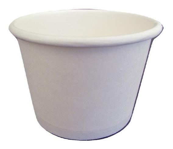 Copo Térmico Papel Biodegradável Branco 50 Ml S/tampa 100un
