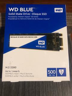 En Stock!! Oferta - Wd Blue Ssd M.2 - 500gb