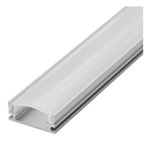 Perfil Para Tira Led De 12v Aluminio 3 Metros Largo - Unilux