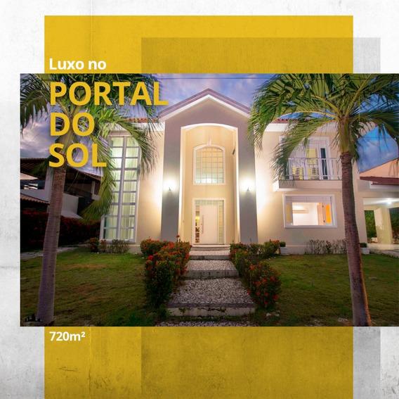 Casa De Luxo No Cabo Branco Privê, 720m², João Pessoa V-5318