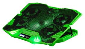 Ac292 Cooler Fan Gamer 5 Fans Led Verde 3000rpm Multilaser