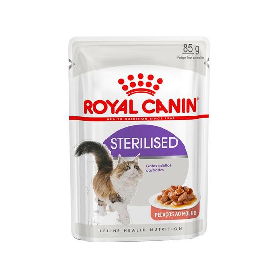 Ração Úmida Royal Canin Sachê Sterilised - Gatos Adultos - 85g - 1 Unidade