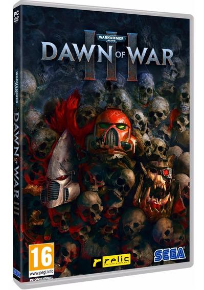 Warhammer 40,000 Dawn Of War 3 Pc Dvd Frete 8 Reais
