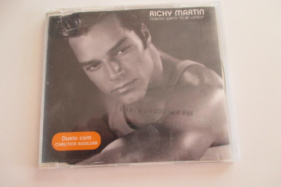 Ricky Martin, Cd Promo, 2000, Nobody Wants To Be Lonely