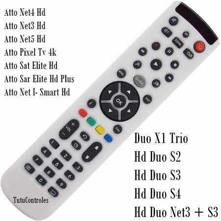 Controle Remoto Lg 3d Hd Net3 Net4 Sat Duo S3 S4akb73756504