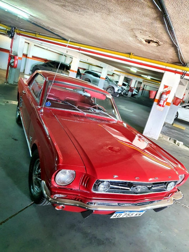 Ford Mustang 1966 Sprint 6 Cilindros 200 (3,3 Litros Cubicos