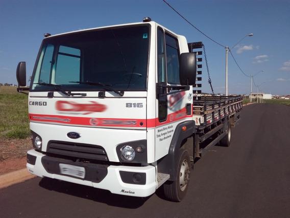 Ford Cargo 816 - 7800km - Zerado
