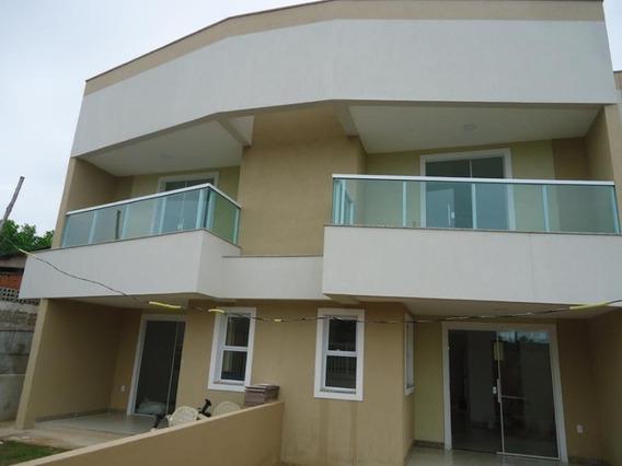 Casa Duplex, Com 2 Quartos, Sala E Cozinha Ampla, Varandão Com Acabamento Em Vidro Blindex 6 Mm,cozinha Americana E Excelente Acabamento, Terreno Grande Com Frente Totalmente Gram - Ca00138 - 4573703