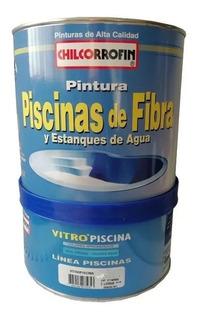 Pintura Piscina Fibra Color Azul Vitropiscina Pack 2 Uni
