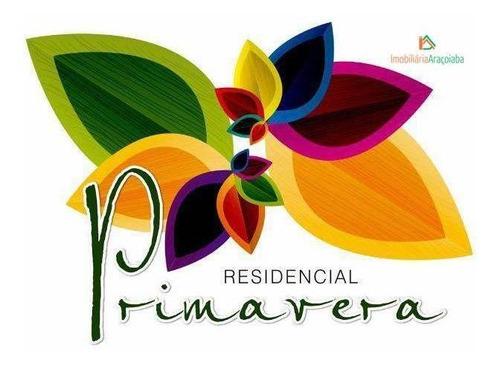 Imagem 1 de 10 de Terreno À Venda, 250 M² Por R$ 145.000 - Residencial Primavera - Araçoiaba Da Serra/sp - Te0042
