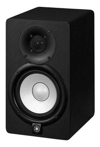 Monitor De Referência Yamaha Hs5 Preto Bi-amplificado Com