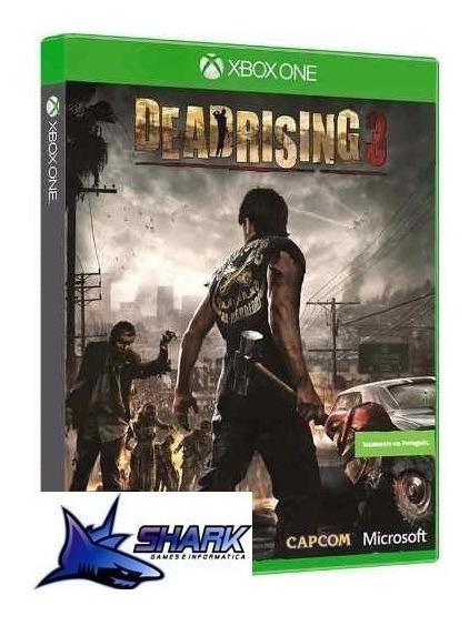 Deadrising 3 Xboxone Midia Fisica Lacrado!