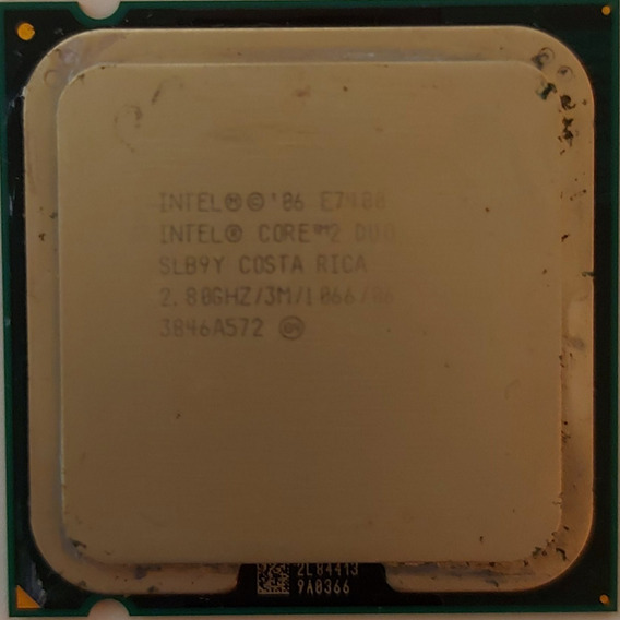 Intel Processador Core2duo E7400