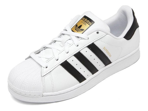 Tenis Superstar adidas Foundation Feminino Original Classico