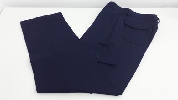 Pantalon Hombre Cargo Gabardina Reforzada