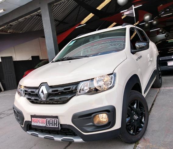Renault Kwid 1.0 Outsider 2020 Branco