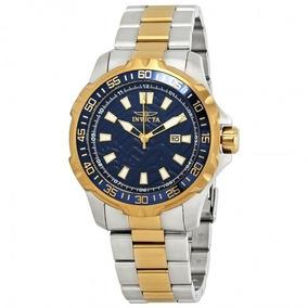 Invicta Relógio De Homem Pro Diver Blue Dial Two-tone Origin