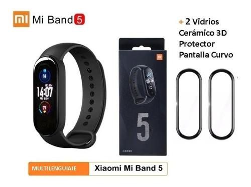 Nuevo Xiaomi Mi Band 5 100% Original +2 Vidrios Protector 3d