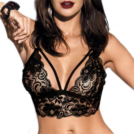 Sexy Bralette Encaje Oferta Por Tiempo Limitado Fbte01-v